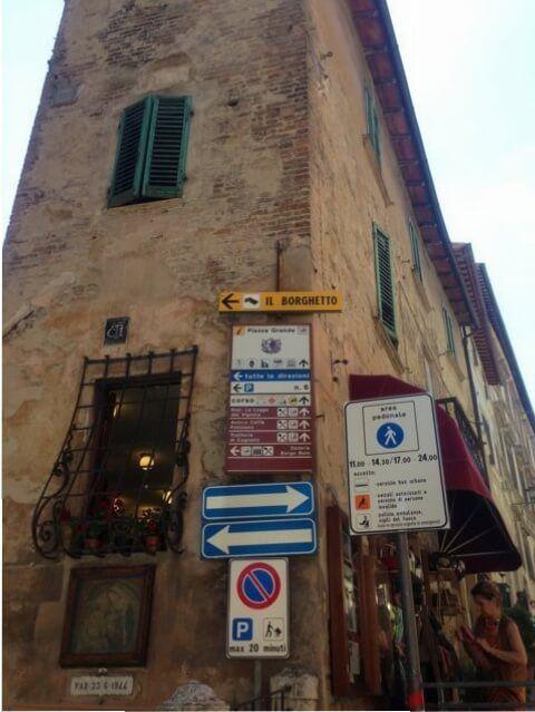 Montepulciano, Tuscany.
