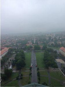 Esztergom, vistas desde la cúpula.