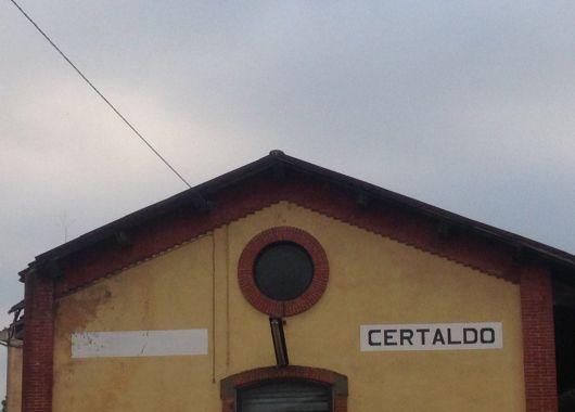 Certaldo en la Toscana.
