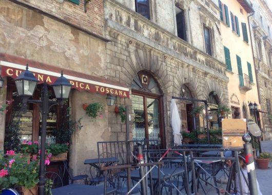 Paseando por Montepulciano, Toscana.