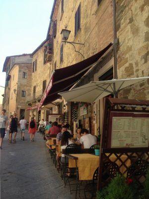 Restaurantes en Montepulciano.