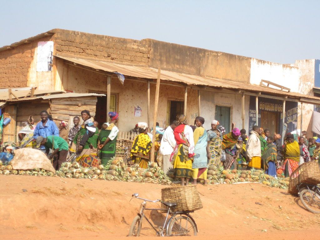 Llegada a Ujiji, Tanzania