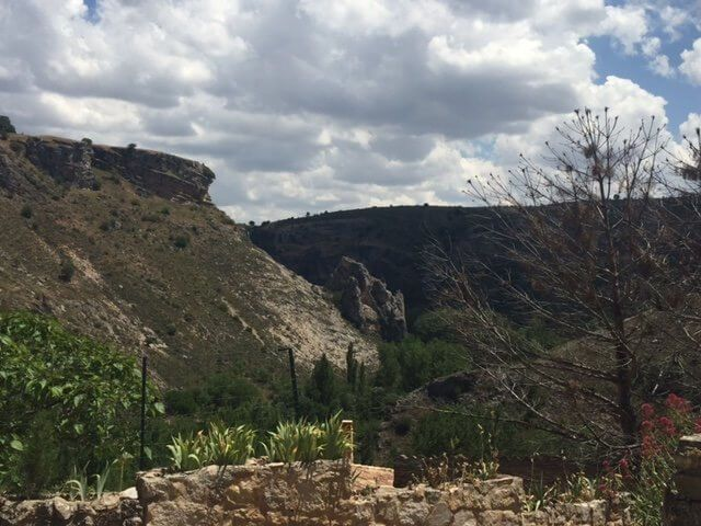 Pelegrina, vistas del valle