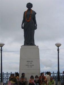 Shimla, monumento a Indira Gandhi.