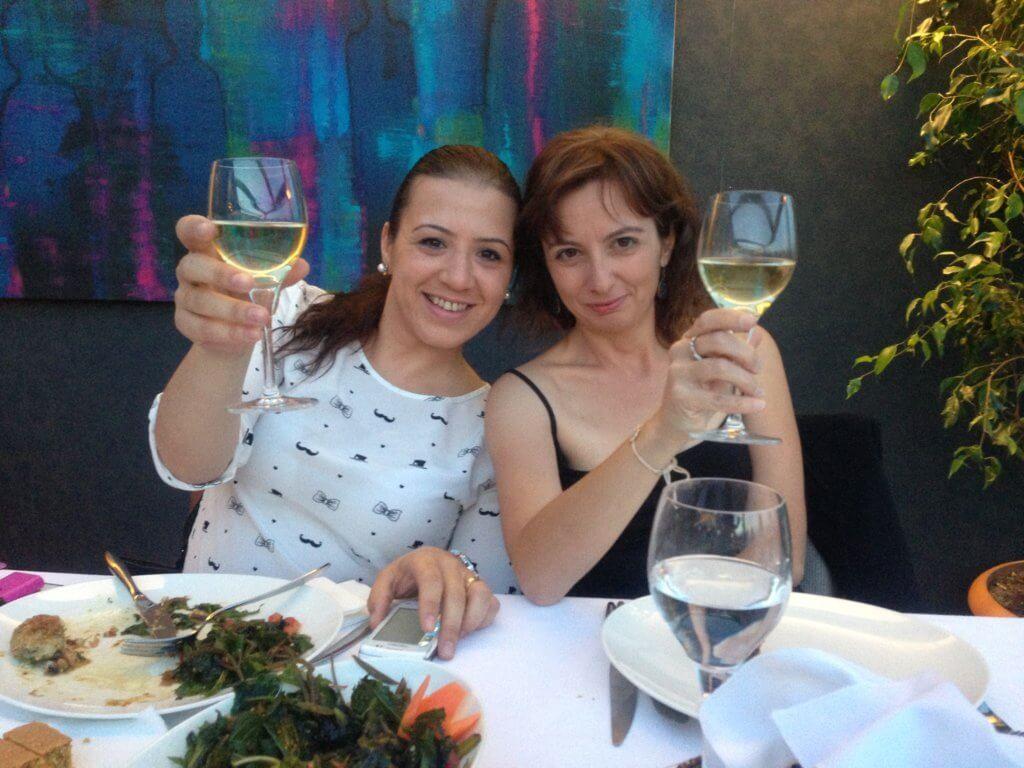 Con Secil, una de mis mejores amigas, y más que una hermana para mi...