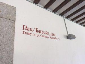 Patio colegio mayor de la Universidad, Alcalá de Henares
