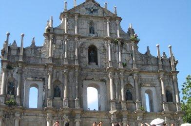 Macao la colonia portuguesa en Asia.