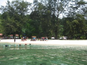 Kota Kinabalu en el Borneo, Malasia