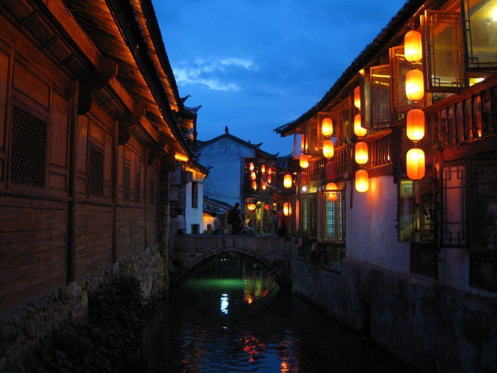 Linjiang, en la provincia de Yunnan, China