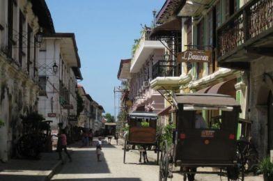 Vigán, la ciudad filipina Patrimonio de la Humanidad.