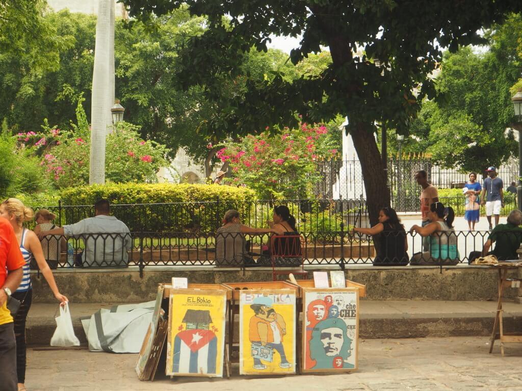 Plaza de Armas, La Habana