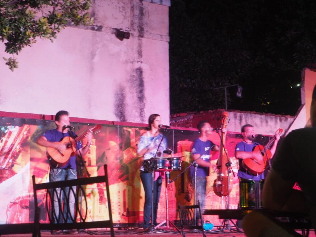 Casa de la música en Trinidad, donde todos los días hay actuaciones en directo.