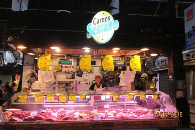 El mercado de carnes fue el inicio de este mercado, de antaño ambulante.