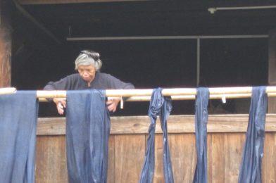 Zhaoxing en China,  reducto de la minoría Dong.