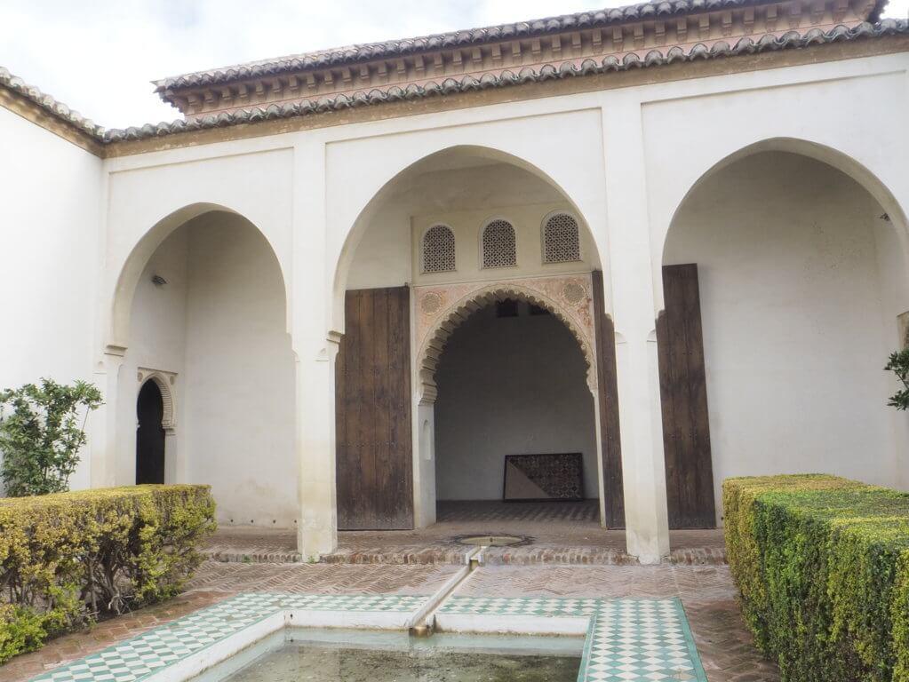 Patios de la Alcazaba, Málaga.