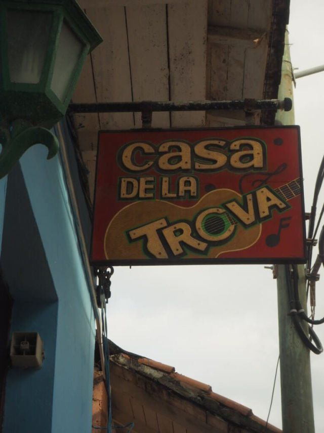 Casa de la Trova, Baracoa.