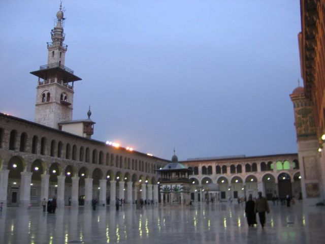 Mezquita de los omeyas de Damasco
