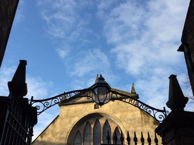 Cementerios en Edimburgo. Escocia.