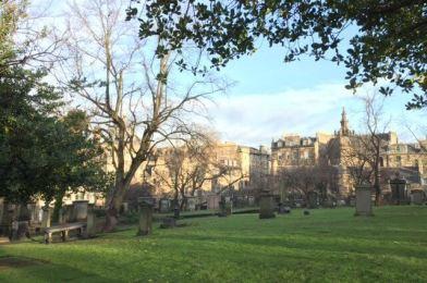 Fantasmas y cementerios en Edimburgo.