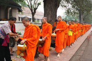 luang prabang, monjes