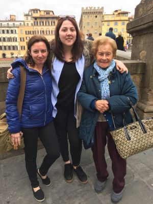 Haciendo amigos con mamá roseviaja