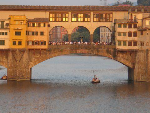 Ponte Vecchio, Florencia.