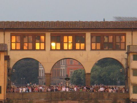 Puente Vecchio, Florencia.
