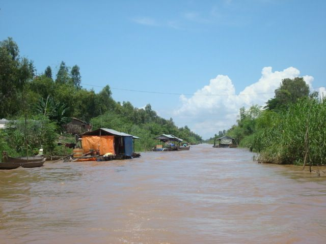 Río Mekong en Camboya