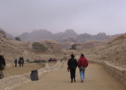 Camino a Petra