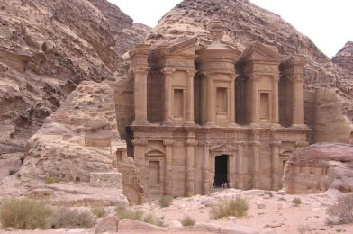 Petra, la ciudad de los Nabateos en Jordania