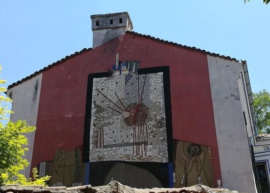 Plovdiv, parte moderna