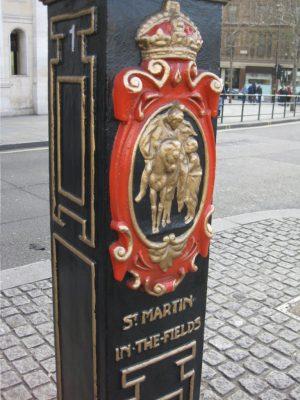 En Trafalgar Square encontramos la iglesia de St Martin in the Fields