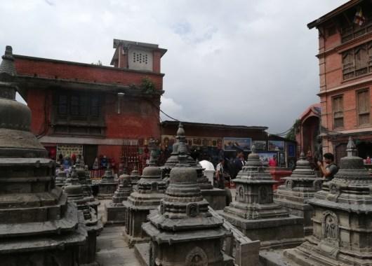 Detalles de Swayambhunath