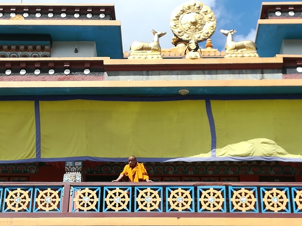 Centro de refugiados tibetanos en Pokhara.