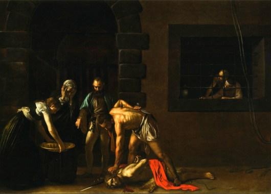 La decapitación de San Juan el Bautista, la obra maestra de Caravaggio