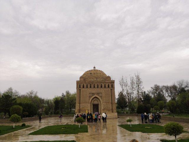 Mausoleo de Ismail Samanid en Bhukara, Uzbekistán