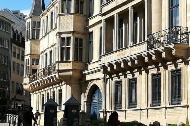 El palacio Ducal de Luxemburgo