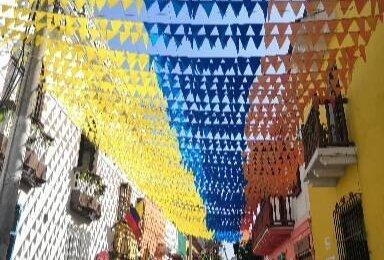 El Barrio de Getsemani en Cartagena de Indias