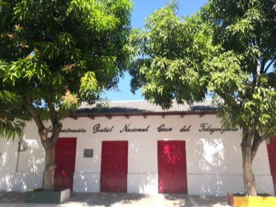 Oficina del Telegrafista en Aracataca, Colombia