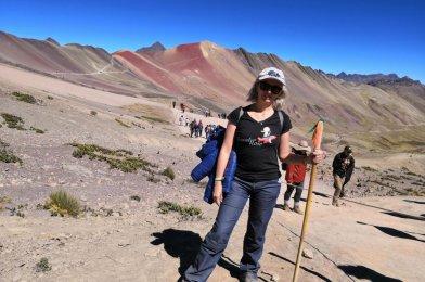 La montaña del Arco Iris en Perú