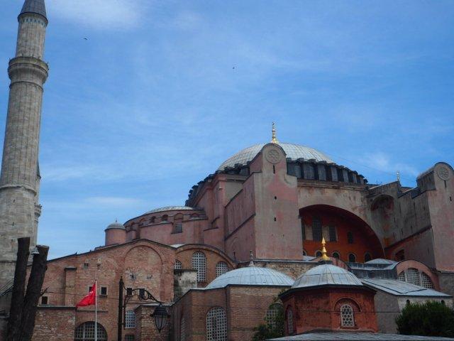Ayasofia en Estambul