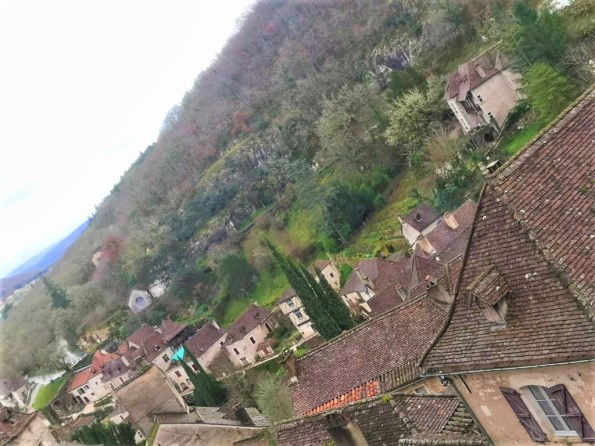 Saint-Cirq Lapopie en el sur de Francia