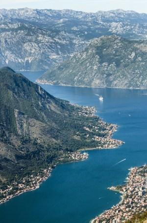 Bahía de Kotor, Montenegro,