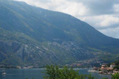 La Bahía de Kotor en Montenegro.
