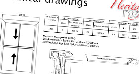 Heritage Rose technical drawings