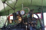 Inside the cab of No.3
