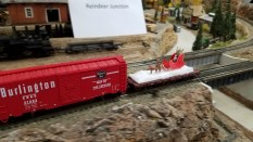 Santas Sleigh at Reindeer Junction