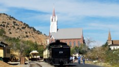 The station at Virginia City