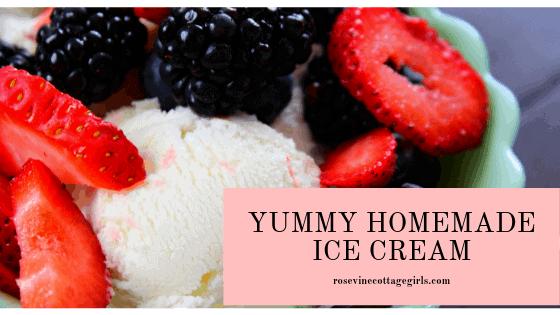 How To Make Amazing Vanilla Homemade Ice Cream At Home