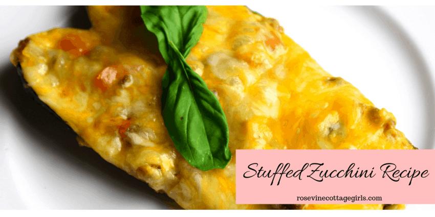 Amazing Stuffed Zucchini Recipe